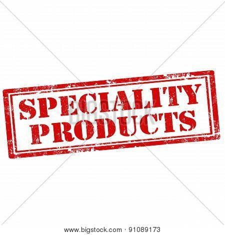 Speciality Products
