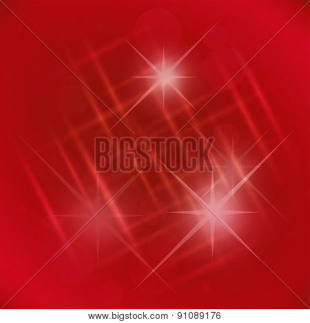 Abstract elegance red background with star