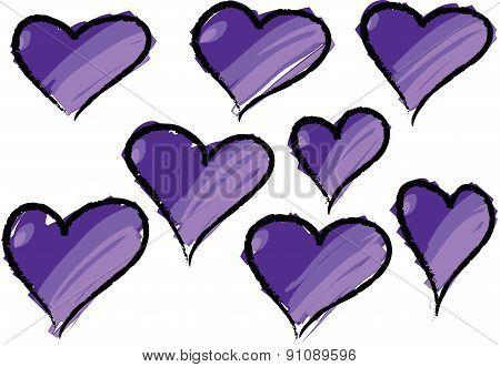 vector heart shape
