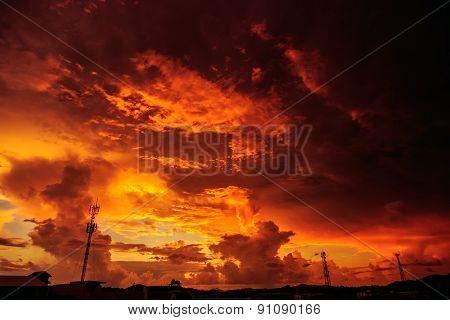 Magic Unreal Sunrise