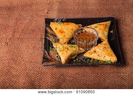 Eastern food. Snack