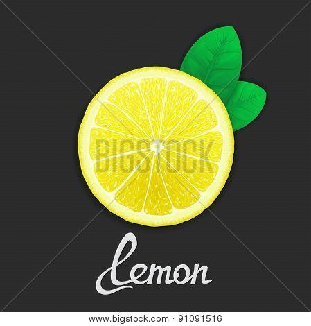 Just of lemon