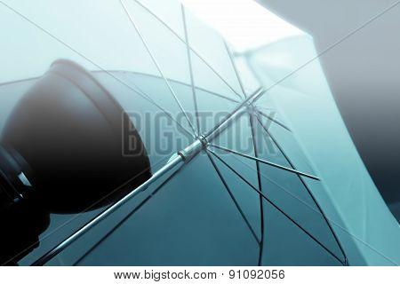 Umbrella In Photo Studio Equipment