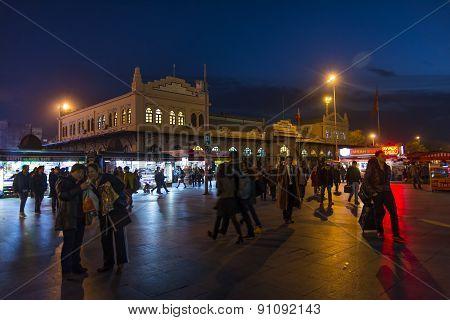 Kadikoy Pier Plaza, Istanbul, Turkey