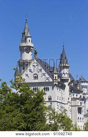 Neuschwanstein Castle Towers