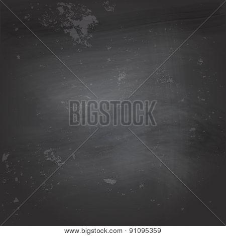 Black blank chalkboard