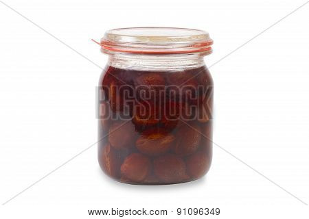 Canned Plums