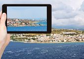 foto of messina  - travel concept  - JPG