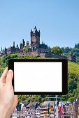 stock photo of moselle  - travel concept  - JPG
