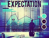 image of expectations  - Expectation Anticipation Assumption Expecting Concept - JPG