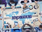 pic of benchmarking  - Benchmarking Standard Development Quality Control Concept - JPG
