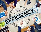 image of efficiencies  - Efficiency Improvement Mission Motivation Development Concept - JPG