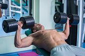 picture of dumbbells  - Strength training with dumbbells - JPG