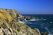 Rugged Sea Coast