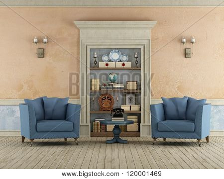 Retro Living Room