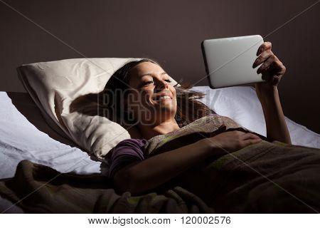 Relaxing before sleep