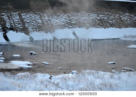 Icy Dam