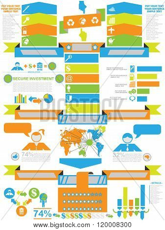Infographic Demographics Business Toy