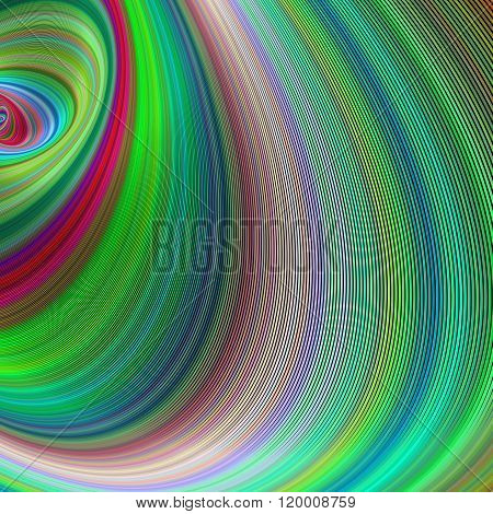 Fractal dream  - abstract computer generated art