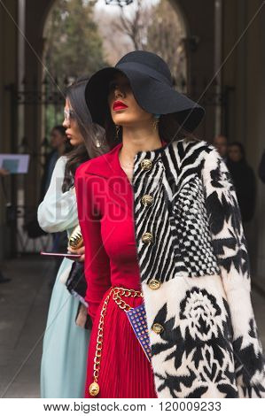 People At Milan Women's Fashion Week Fall/winter 16/17