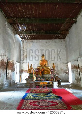 Image of Buddha in the Buddhist Temple