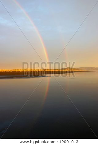 Two Rainbows,NZ