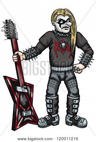 Extreme Metal Guitarist