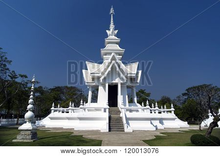 Part of White Temple, Chiang Rai