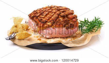 Salt Roast, Pork Roast Crust