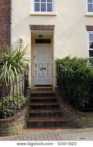 Town House Entrance