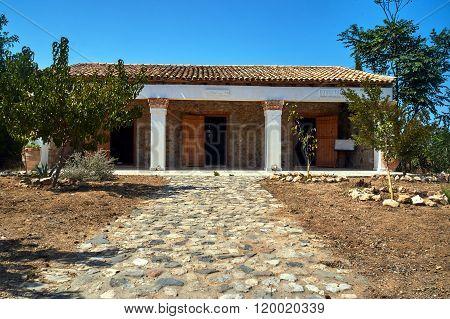 Traditional farmhouse on the island of Kos