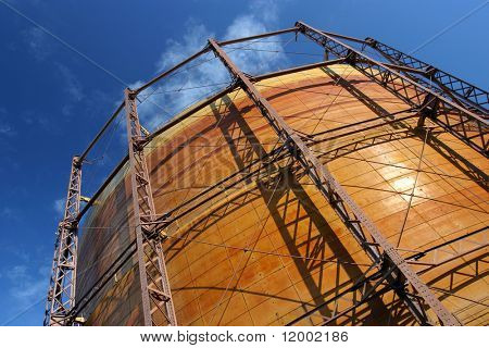 Industrial Natural Gas Container, suitable as background