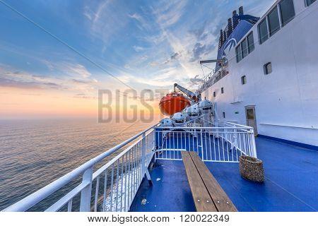 Nautical Ferry Deck