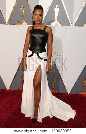 LOS ANGELES - FEB 28:  Kerry Washington at the 88th Annual Academy Awards - Arrivals at the Dolby Theater on February 28, 2016 in Los Angeles, CA