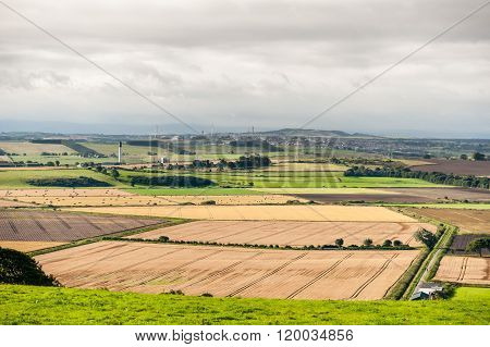 Perthshire rural landscape