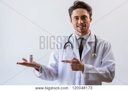 Handsome Young Doctor