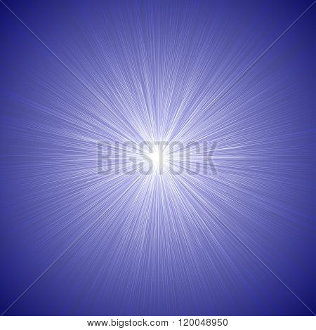 Radial Speed Lines Graphic Effects Background Blue 01