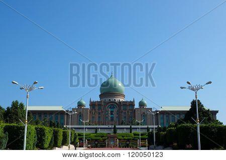 The Perdana Putra Is A Building In Putrajaya..