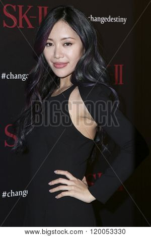 LOS ANGELES - FEB 26:  Michelle Phan at the SK-II #ChangeDestiny Forum at the Andaz Hotel on February 26, 2016 in Los Angeles, CA