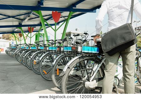Electric Bicycle Sharing System