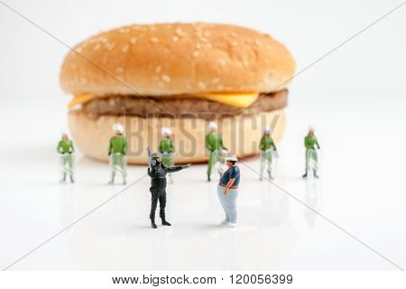 Step Away From The Burger!