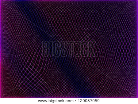 abstract spirograph background