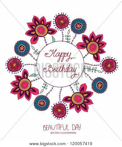 beautiful day and happy birthday