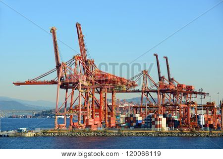 Port of Vancouver, BC, Canada