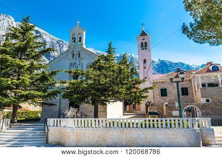 The Parish Church Of St. Nikola-baska Voda,croatia