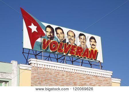 Cuba Political Poster