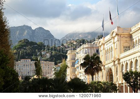 Delightful Urban View Of Menton