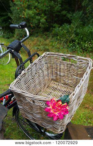 Reed Bicycle Basket