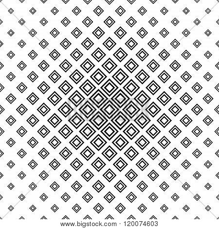 Repeating monochromatic vector square pattern
