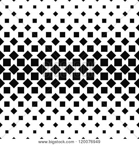 Repeating monochromatic abstract square pattern